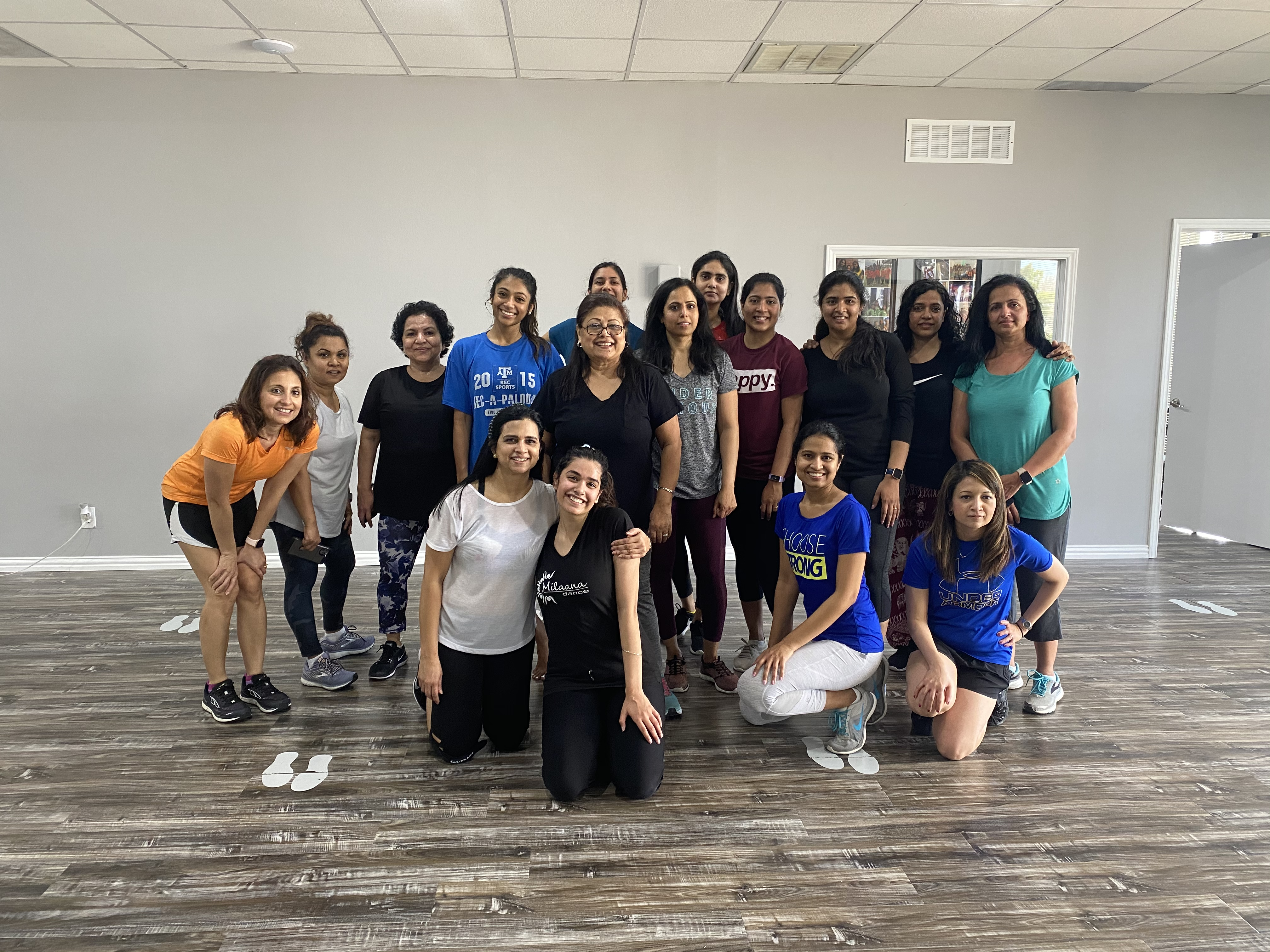 Milaana Dance Coppell Bollywood Workout Saturday